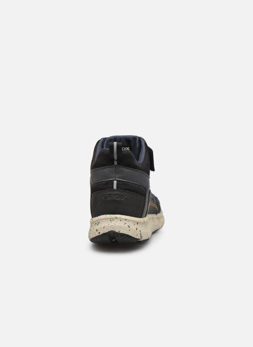 Boots en enkellaarsjes Geox J Flexyper Boy B Abx J049XB Zwart rechts