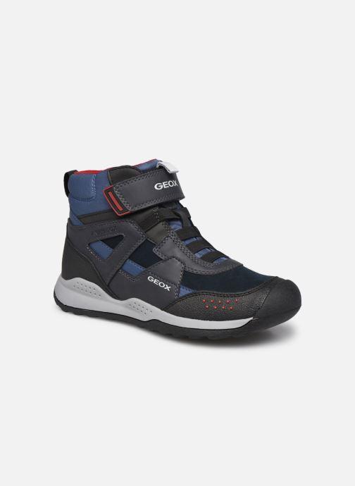 Zapatillas de deporte Geox J Teram Boy B Abx J04AEB Azul vista de detalle / par