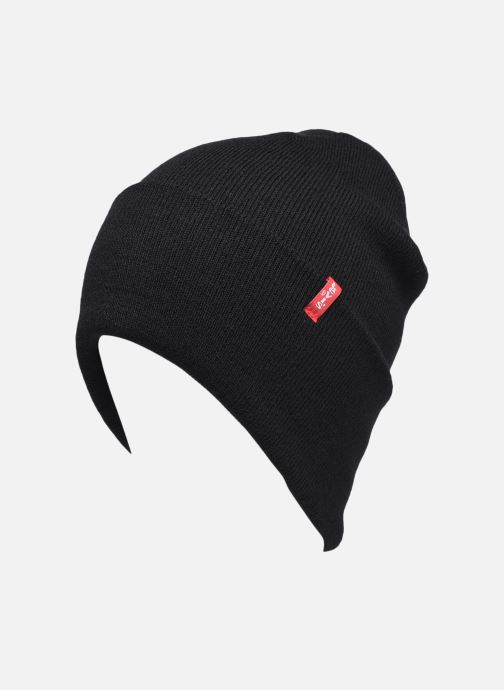 Mütze Levi's Slouchy Red Tab Beanie Levi's schwarz ansicht von vorne
