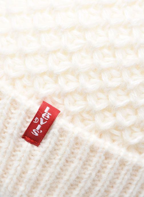 Bonnets Levi's Classic Knit Beanie Levi's Blanc vue face