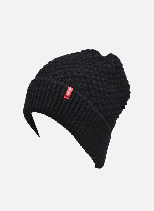Bonnets Levi's Classic Knit Beanie Levi's Noir vue face