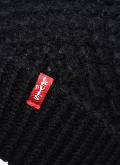Bonnets Levi's Classic Knit Beanie Levi's Noir vue droite