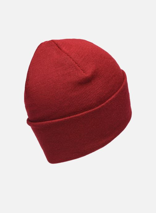 Mütze Levi's BATWING EMBROIDERED SLOUCHY BEANIE weinrot schuhe getragen