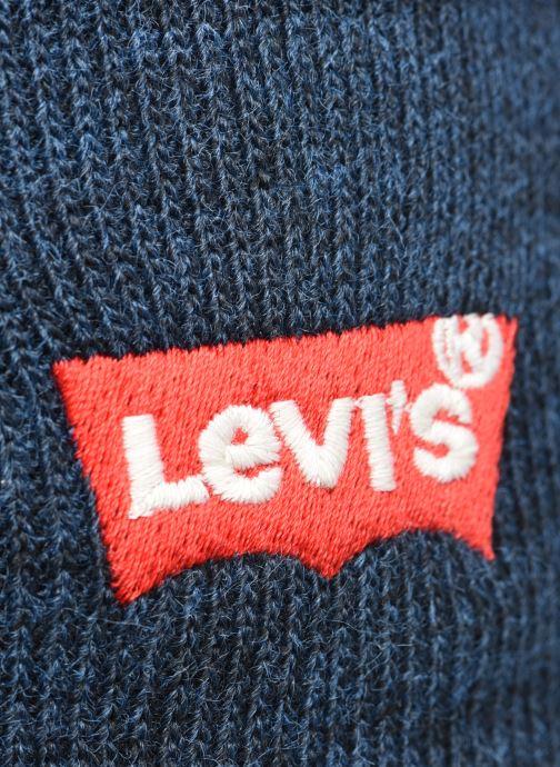 Mütze Levi's BATWING EMBROIDERED SLOUCHY BEANIE blau ansicht von vorne