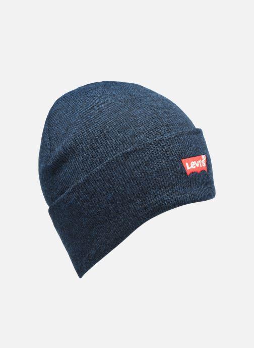 Mütze Levi's BATWING EMBROIDERED SLOUCHY BEANIE blau detaillierte ansicht/modell