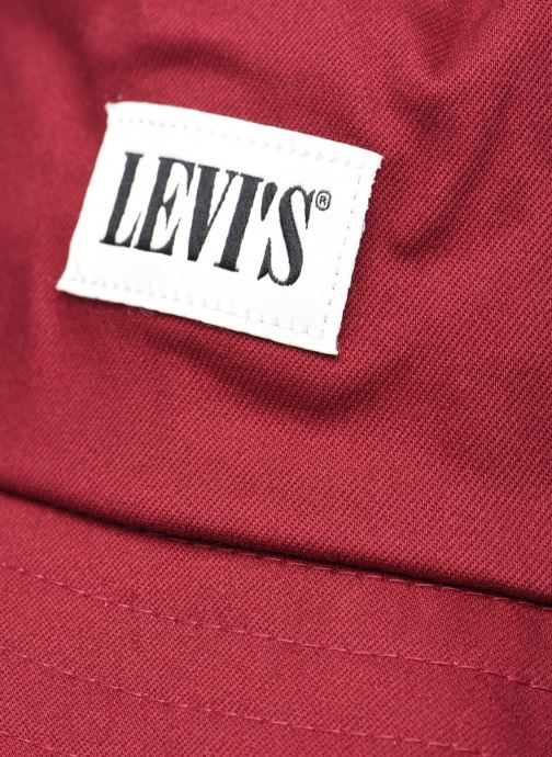 Cappello Levi's Serif Bucket Hat Levi's Rosso immagine frontale