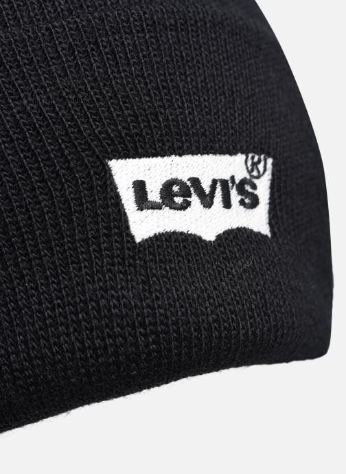 Bonnets Levi's 2020 BATWING EMBROIDERED SLOUCHY BEANIE Levi's Noir vue face