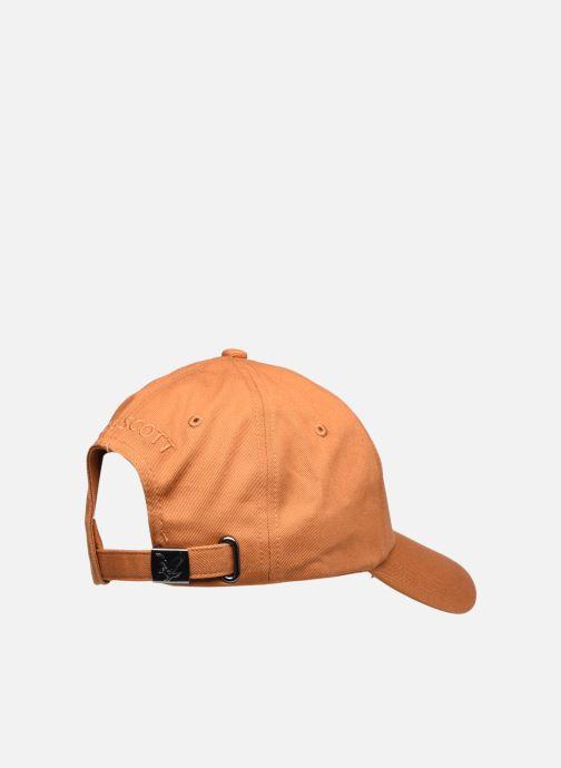 Cappellino Lyle & Scott Baseball Cap Marrone modello indossato