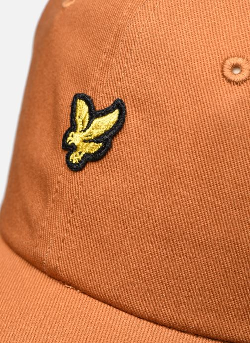 Casquettes Lyle & Scott Baseball Cap Marron vue face