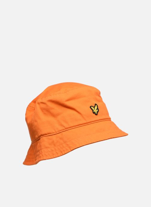 Sombrero Lyle & Scott Bucket Hat Naranja vista de detalle / par