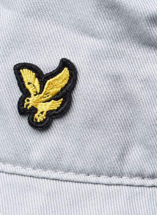 Cappello Lyle & Scott Bucket Hat Grigio immagine frontale