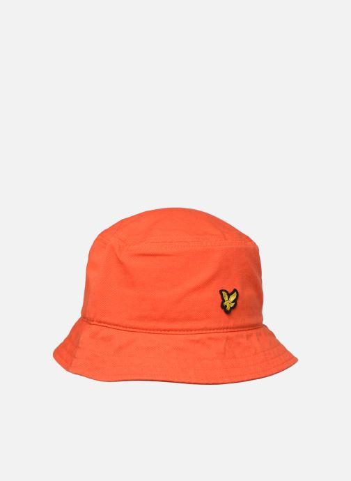 Hoed Lyle & Scott Bucket Hat Oranje detail