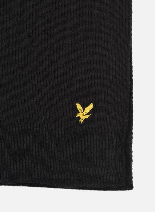Sciarpa y foulard Lyle & Scott Scarf Nero modello indossato