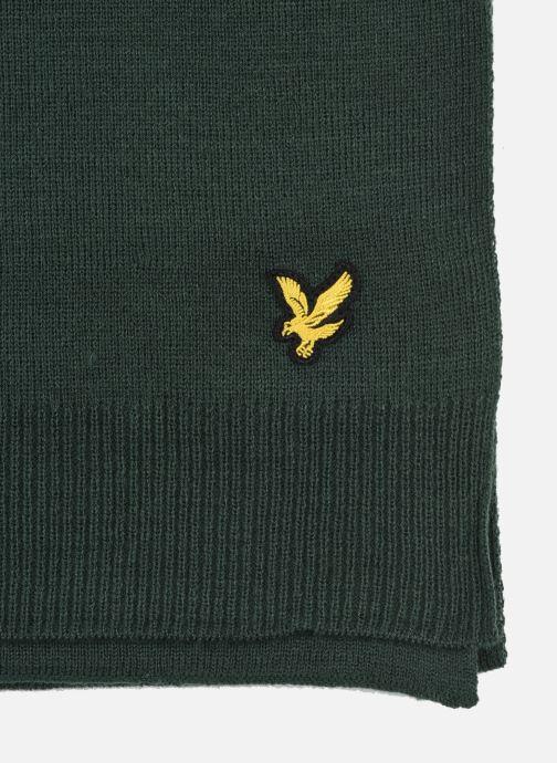 Sciarpa y foulard Lyle & Scott Scarf Verde modello indossato