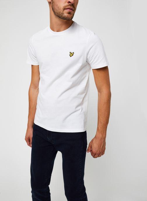 Kleding Lyle & Scott Plain T-shirt Wit detail