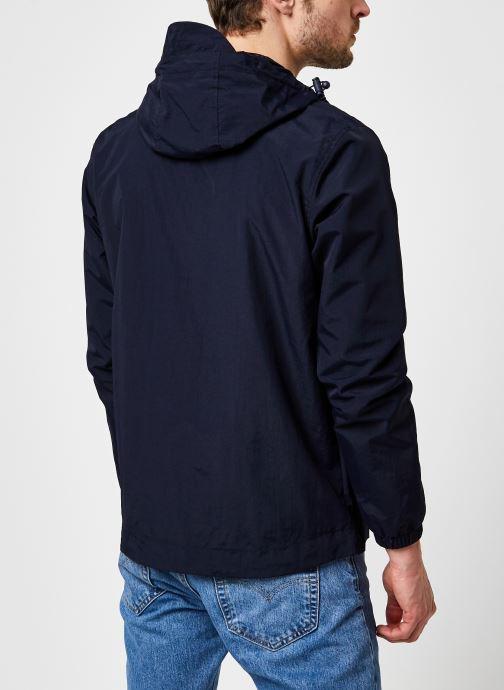 Kleding Lyle & Scott Zip Through Hooded Jacket Blauw model