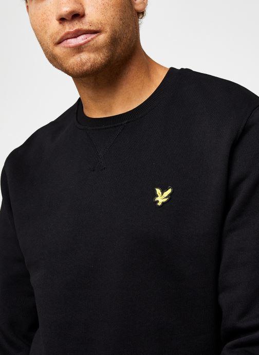 Vêtements Lyle & Scott Crew Neck Sweatshirt Noir vue face
