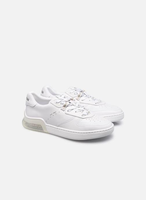 Sneaker Coach Citysole Suede-Leather Court weiß 3 von 4 ansichten