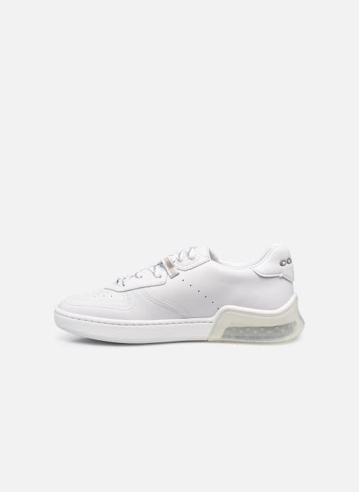 Sneaker Coach Citysole Suede-Leather Court weiß ansicht von vorne