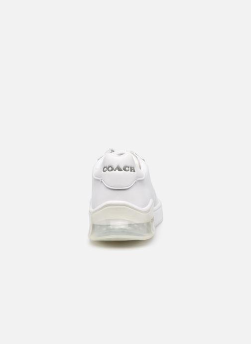 Sneaker Coach Citysole Suede-Leather Court weiß ansicht von rechts