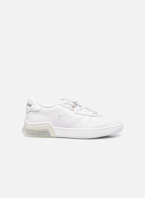 Sneaker Coach Citysole Suede-Leather Court weiß ansicht von hinten