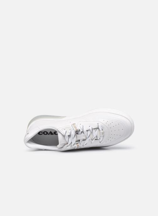 Sneaker Coach Citysole Suede-Leather Court weiß ansicht von links