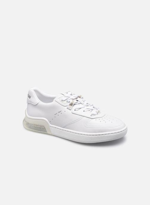 Sneaker Coach Citysole Suede-Leather Court weiß detaillierte ansicht/modell