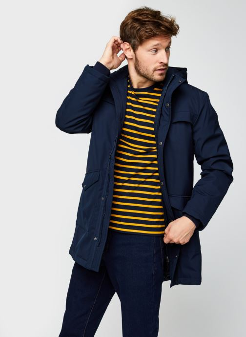 Vêtements Minimum Lyngdal 7113 Bleu vue détail/paire