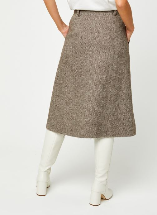 Vêtements Minimum Ceilia 7161 Marron vue portées chaussures