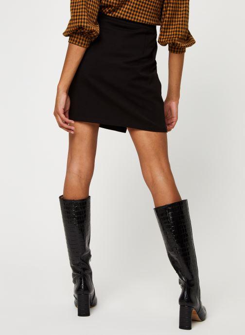 Vêtements Minimum Faluna E54 Noir vue portées chaussures