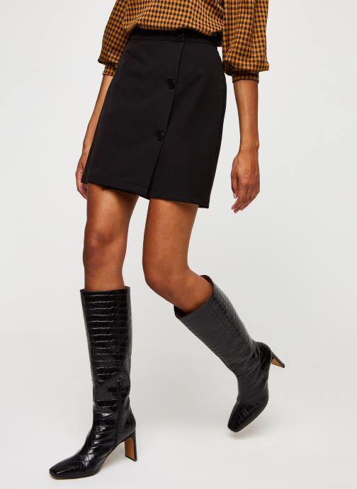 Vêtements Minimum Faluna E54 Noir vue détail/paire