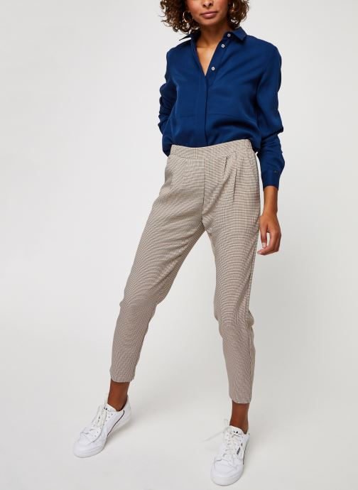 Minimum Pantalon droit - Sofja 7152 (Marron) - Vêtements chez Sarenza (473436) CoITj