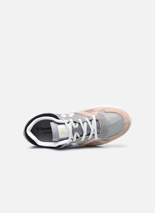 Sneaker Hummel Edmonton 3S Suede grau ansicht von links