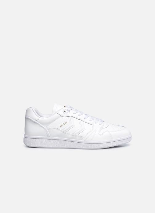 Sneakers Hummel Hb Team Leather Bianco immagine posteriore