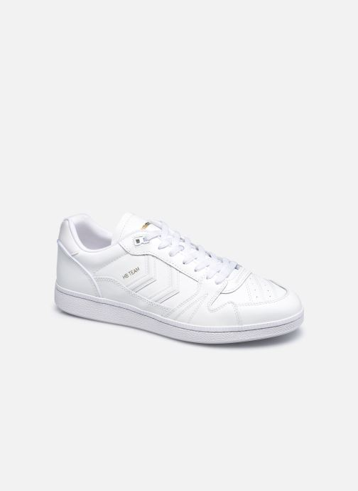Sneakers Hummel Hb Team Leather Bianco vedi dettaglio/paio