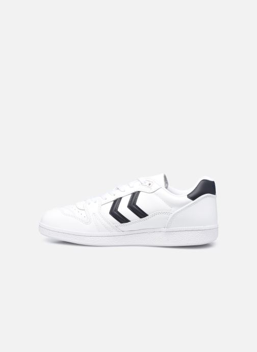 Sneakers Hummel Hb Team Leather Bianco immagine frontale