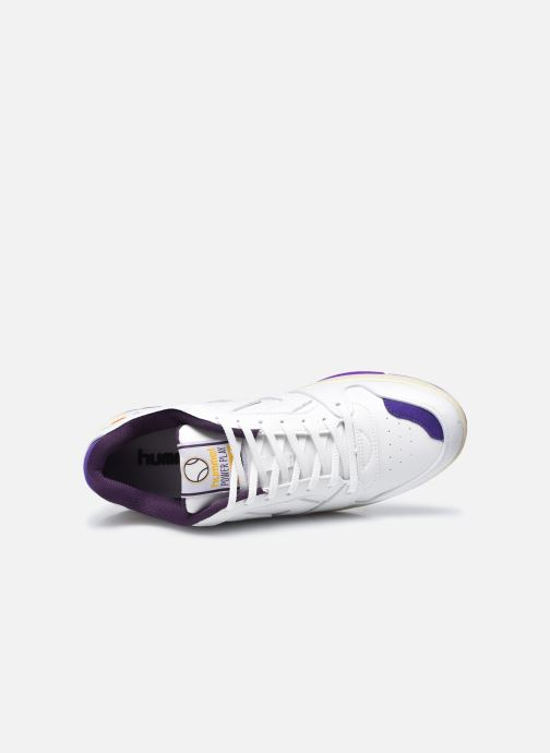 Sneakers Hummel Power Play Vegan Archive Bianco immagine sinistra