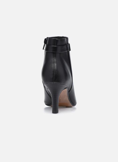 Bottines et boots Clarks Illeana Calla Noir vue droite
