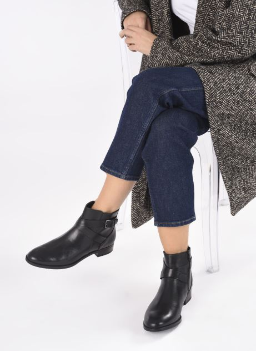 Bottines et boots Clarks Hamble Buckle Noir vue bas / vue portée sac