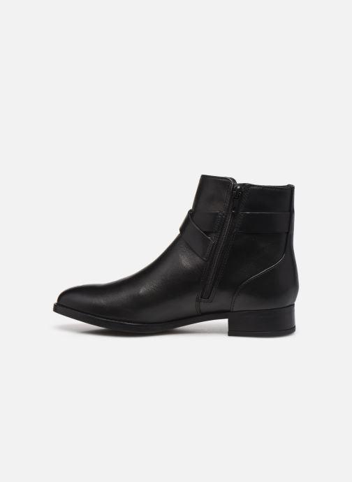 Bottines et boots Clarks Hamble Buckle Noir vue face
