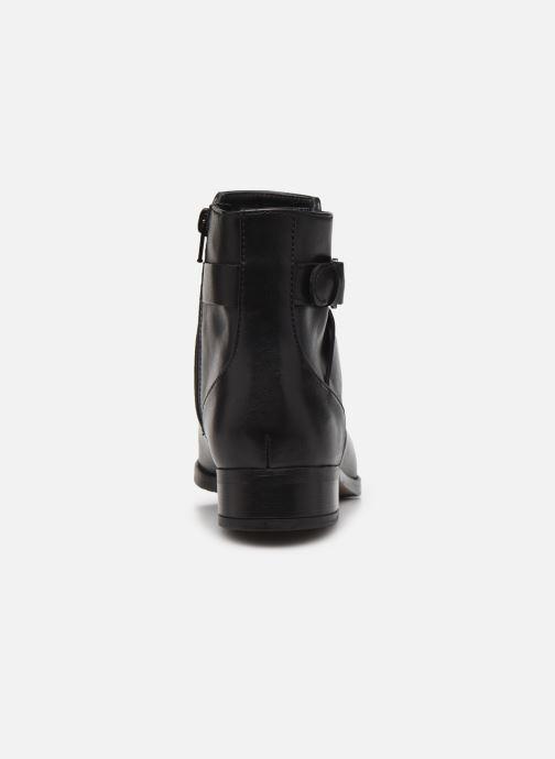 Bottines et boots Clarks Hamble Buckle Noir vue droite