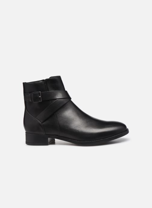 Bottines et boots Clarks Hamble Buckle Noir vue derrière