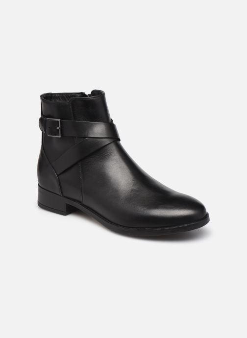 Bottines et boots Clarks Hamble Buckle Noir vue détail/paire