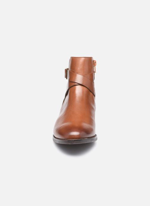 Stiefeletten & Boots Clarks Hamble Buckle braun schuhe getragen