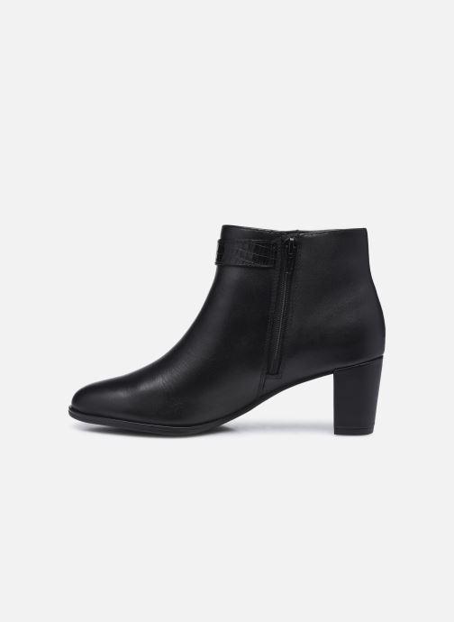 Bottines et boots Clarks Kaylin60 Boot Noir vue face