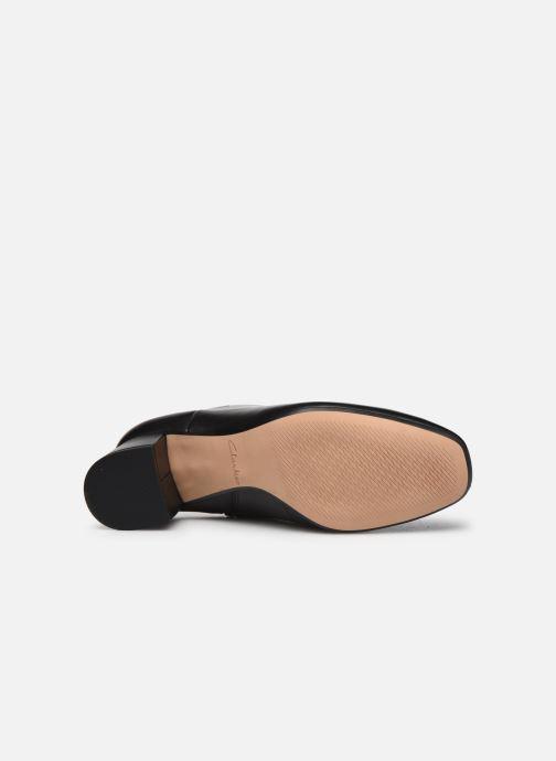 Stiefeletten & Boots Clarks Sheer Flora 2 schwarz ansicht von oben