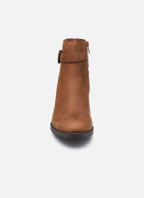 Stiefeletten & Boots Clarks Verona Lark braun schuhe getragen