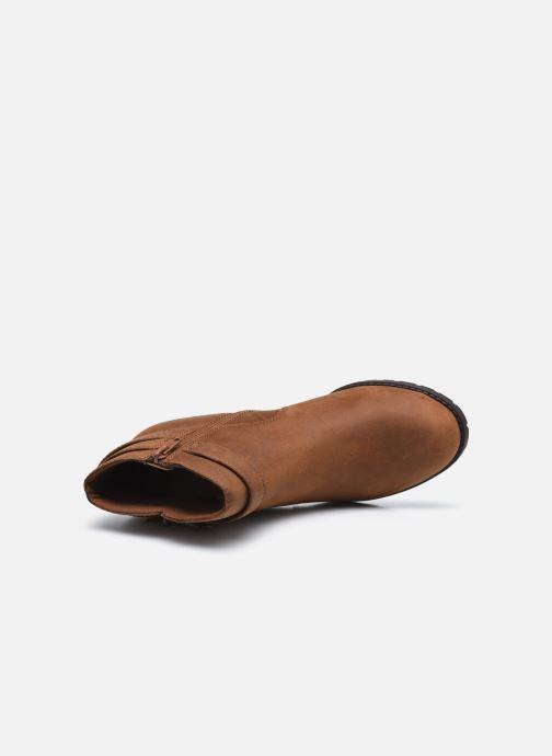 Stiefeletten & Boots Clarks Verona Lark braun ansicht von links