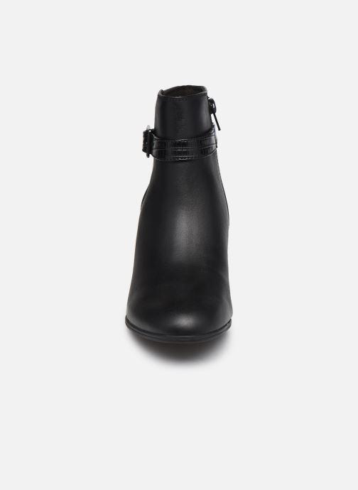 Bottines et boots Clarks Alayna Juno Noir vue portées chaussures
