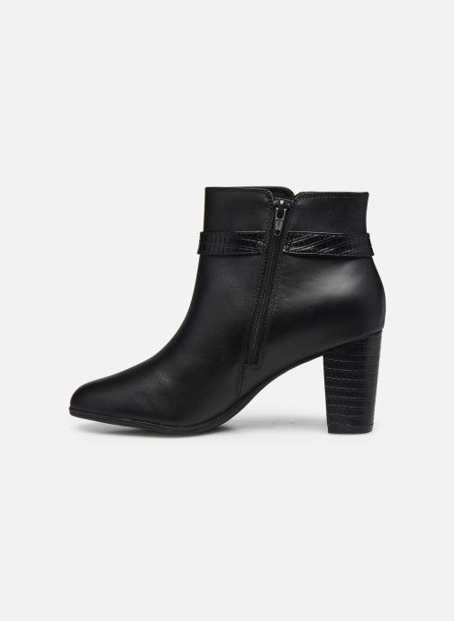 Bottines et boots Clarks Alayna Juno Noir vue face